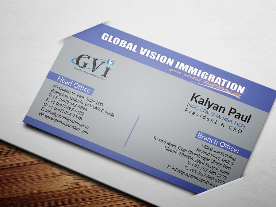 Entry #59 by DreamThinker for Design some Business Cards | Freelancer
