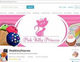 Nro 122 kilpailuun Develop a Brand Identity for Pink Kitty Princess on ETSY käyttäjältä pkrishna7676