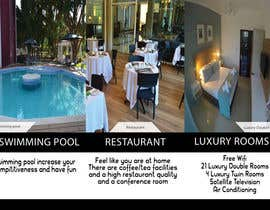 Nro 10 kilpailuun Design a Brochure for elegant Hotel käyttäjältä Mohamedbellak