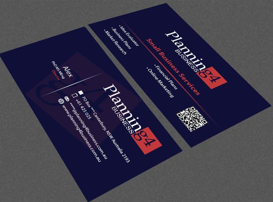 Penyertaan Peraduan #44 untuk Design some Business Cards for a business consultant