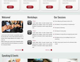 #28 para Design a Website Mockup for small biz seeking Fortune 500 clients por TemplateDigitale