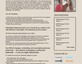 #7 untuk Design a Website Mockup for small biz seeking Fortune 500 clients oleh Ankur0312
