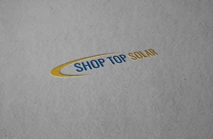 mrmot64 tarafından Design a Logo for Shop Top Solar için no 113