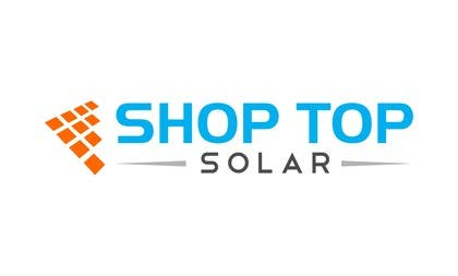anurag132115 tarafından Design a Logo for Shop Top Solar için no 202