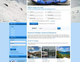 #4 untuk Design a Website Mockup for adventure travel booking website oleh webidea12
