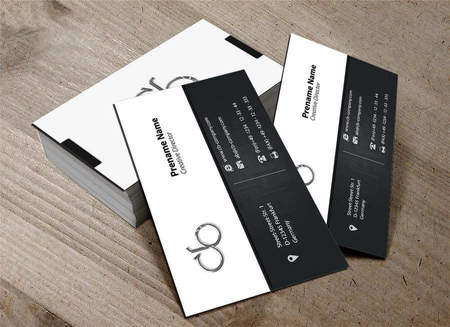 Entry #69 by m2ny for Simple project: design of business cards for ...