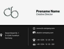 #86 cho Simple project: design of business cards for innovative design & IT company bởi m2ny