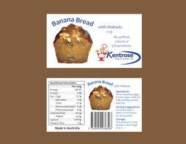 nº 55 pour Banana bread packaging label design par dhartmann