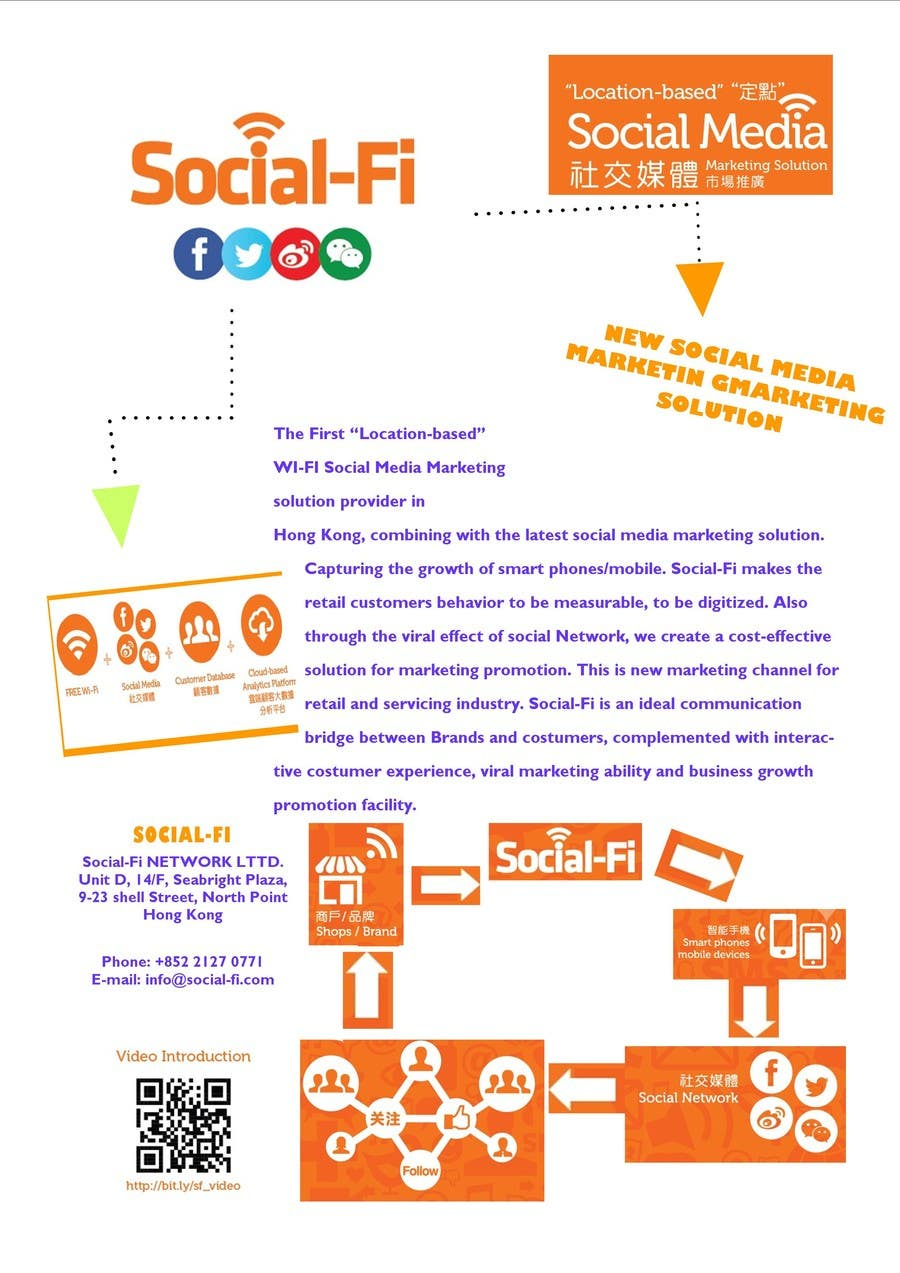 #25 for 48 Hour Design Flyer for Social Wi-fi by apkameet