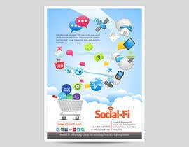 #29 for 48 Hour Design Flyer for Social Wi-fi by graphics15