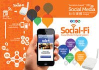 #37 for 48 Hour Design Flyer for Social Wi-fi by Keria
