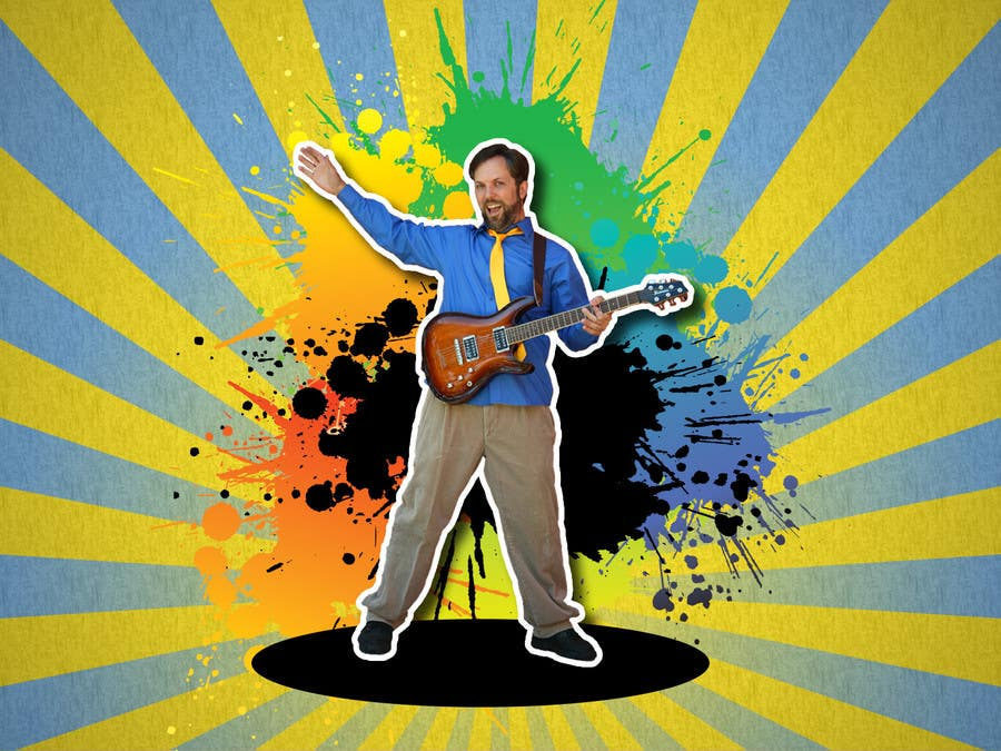 #33 for Edit/create picture background for kids' music performer by raywind