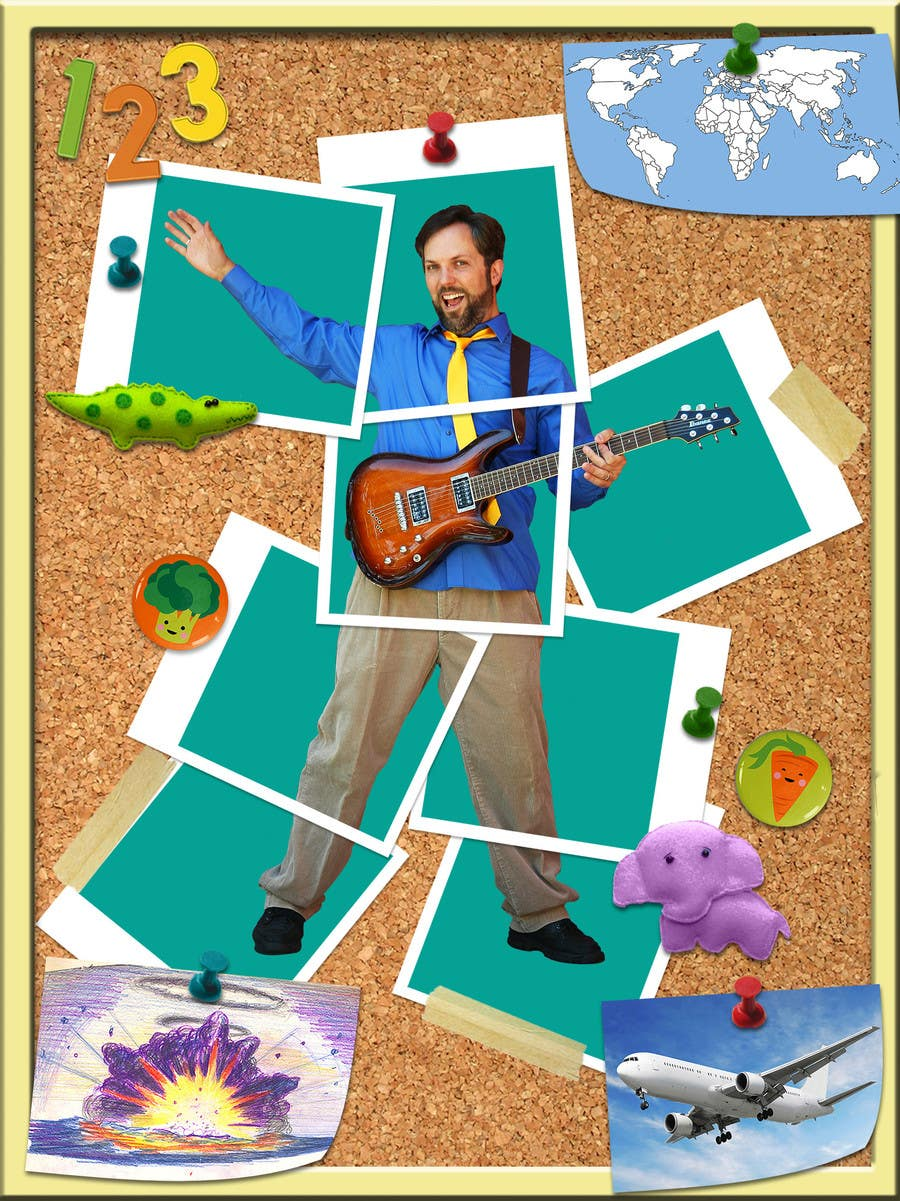 #49 for Edit/create picture background for kids' music performer by aliremo