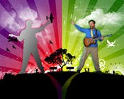 Contest Entry #15 for Edit/create picture background for kids' music performer