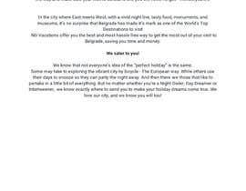 Nro 3 kilpailuun Tourist agency- Website pages- Home, About, Services käyttäjältä Chantelle86