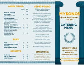 maq123 tarafından Design a Catering Menu for Mykonos Greek Restaurant için no 9