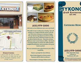 #14 for Design a Catering Menu for Mykonos Greek Restaurant by Kusmin
