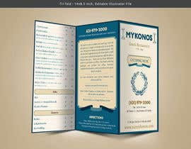 #18 para Design a Catering Menu for Mykonos Greek Restaurant por VrushaliSingh