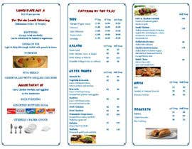 #19 untuk Design a Catering Menu for Mykonos Greek Restaurant oleh designcat23