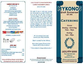 #20 para Design a Catering Menu for Mykonos Greek Restaurant por designcat23