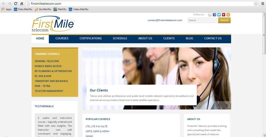 Konkurrenceindlæg #270 for Design a Logo for Firstmile Telecom