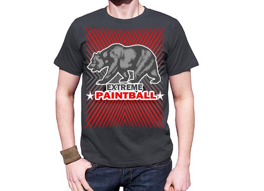 Bài tham dự cuộc thi #70 cho Design a T-Shirt for Extreme Paintball