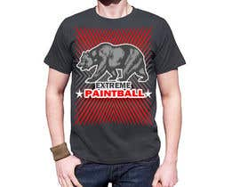 #70 for Design a T-Shirt for Extreme Paintball by jojohf