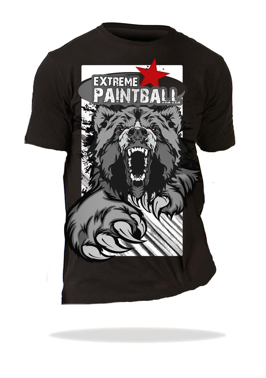 Bài tham dự cuộc thi #47 cho Design a T-Shirt for Extreme Paintball