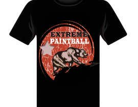 nº 45 pour Design a T-Shirt for Extreme Paintball par cdinesh008