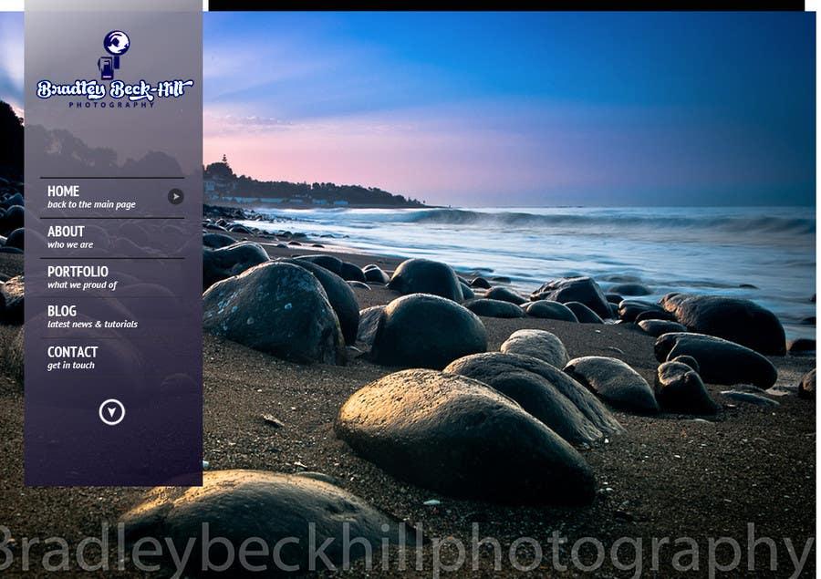 Inscrição nº 20 do Concurso para Photography PSD reskin
