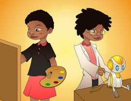Nro 31 kilpailuun Cartoon Professional Kid Character - what I want to be käyttäjältä ksrikanth