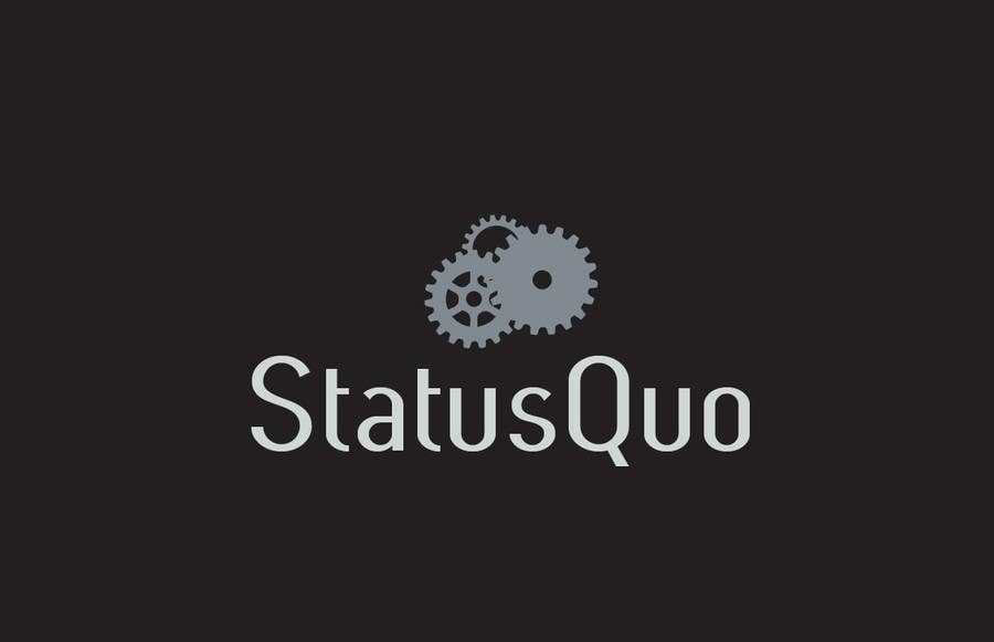 #143 for Design a Logo for Status Quo by anaung