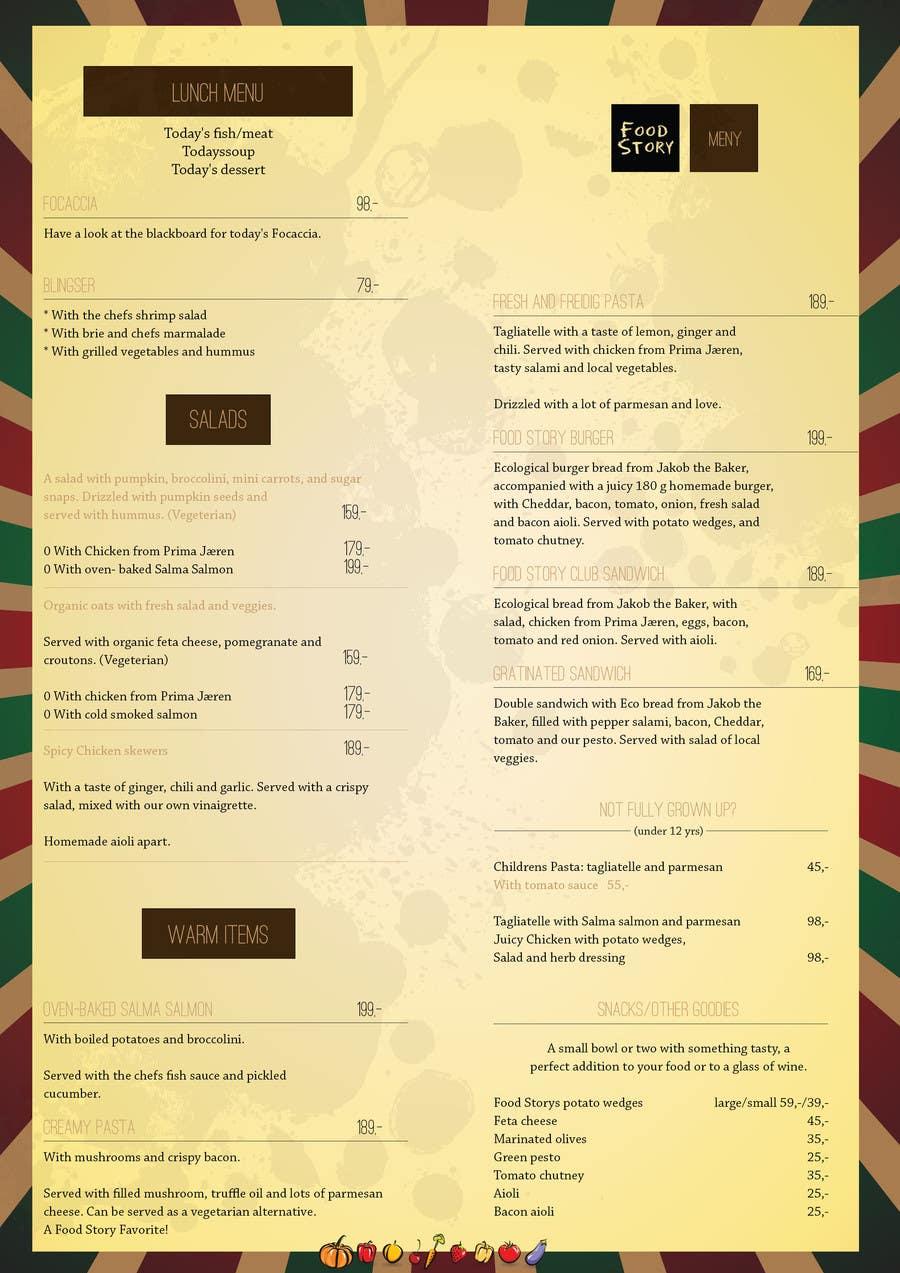 Bài tham dự cuộc thi #                                        19                                      cho                                         Create a background for a restaurant menu.