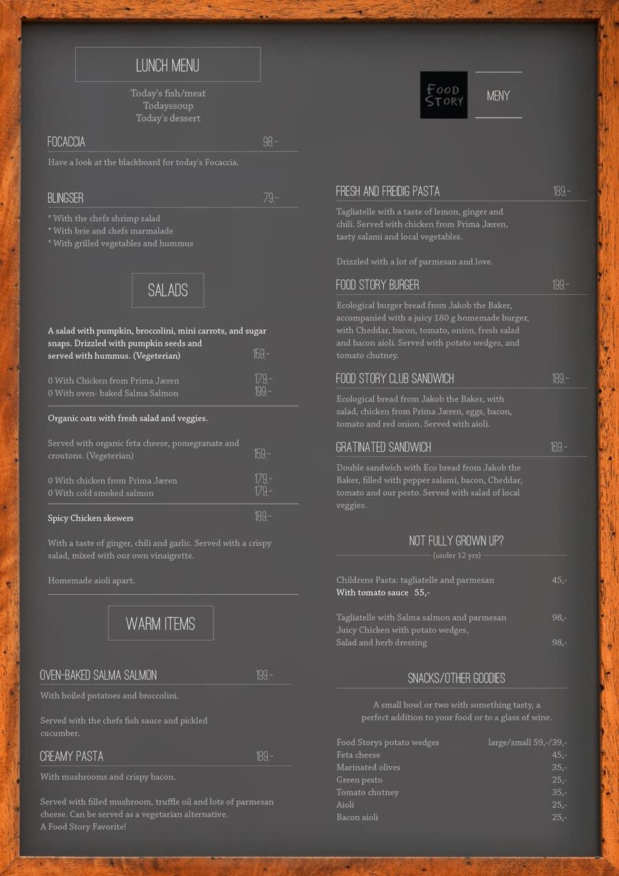 Bài tham dự cuộc thi #                                        33                                      cho                                         Create a background for a restaurant menu.