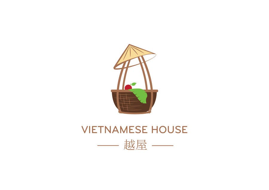 "#86 for Design a Logo for Vietnamese restaurant named ""越屋 Vietnamese House"" by raywind"