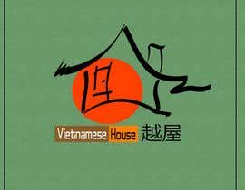 "#93 for Design a Logo for Vietnamese restaurant named ""越屋 Vietnamese House"" by kuhen"