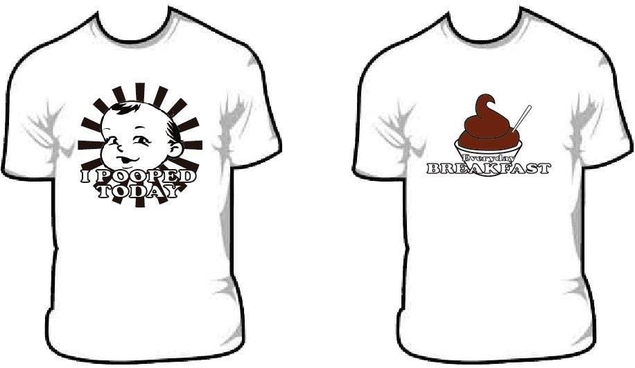 Penyertaan Peraduan #                                        52                                      untuk                                         T-shirt Design for Razors and Diapers