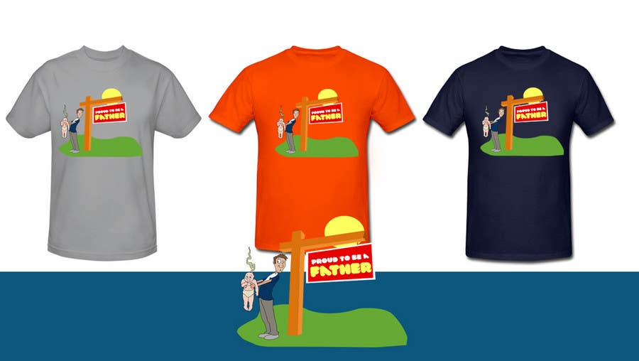 Penyertaan Peraduan #                                        176                                      untuk                                         T-shirt Design for Razors and Diapers