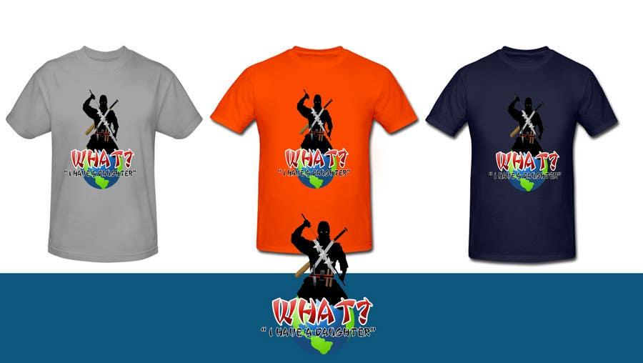 Kilpailutyö #190 kilpailussa T-shirt Design for Razors and Diapers