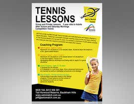 #6 para Design a Flyer for Tennis Coaching por Spector01