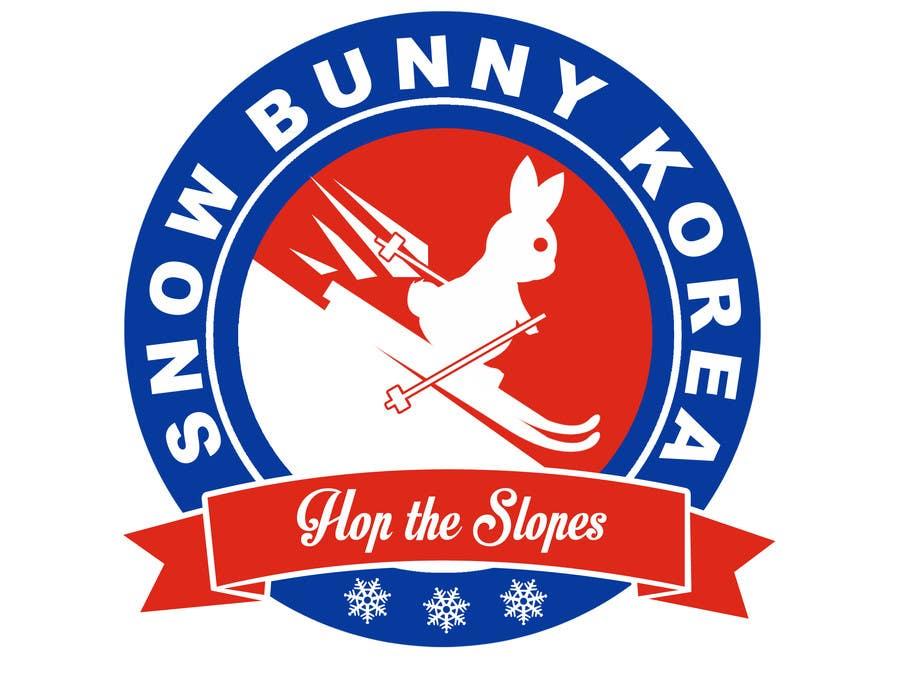 Penyertaan Peraduan #                                        21                                      untuk                                         Design a Logo for Snow Bunny Korea