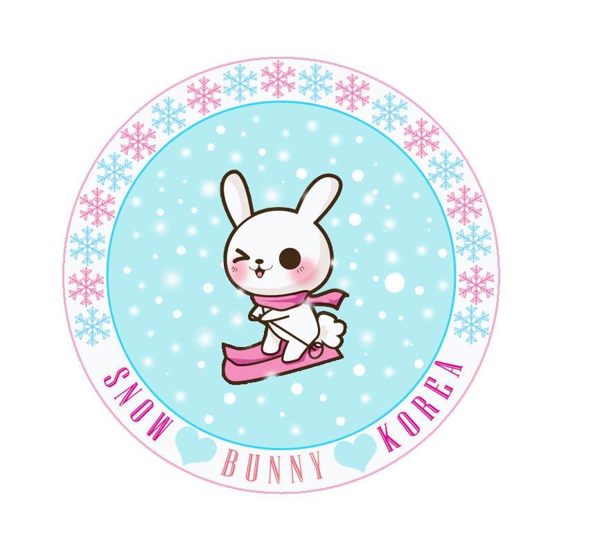 Penyertaan Peraduan #                                        10                                      untuk                                         Design a Logo for Snow Bunny Korea