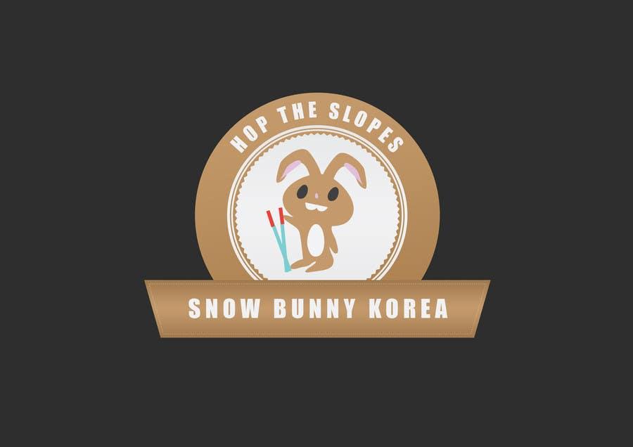 Penyertaan Peraduan #                                        29                                      untuk                                         Design a Logo for Snow Bunny Korea