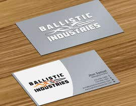 #41 for Business Cards for a Firearms Business - Ballistic Industries af jobee