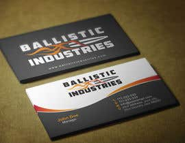 nº 61 pour Business Cards for a Firearms Business - Ballistic Industries par HammyHS