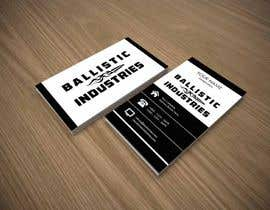 nº 52 pour Business Cards for a Firearms Business - Ballistic Industries par pointlesspixels