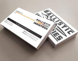 nº 49 pour Business Cards for a Firearms Business - Ballistic Industries par ibhet