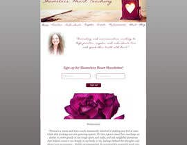 #4 for Design a Website Mockup for Shameless Heart Coaching by Endre045