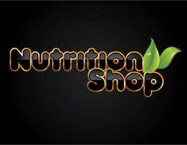 Nro 33 kilpailuun Design a Logo for Nutrition Shop käyttäjältä dannnnny85