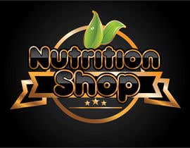 Nro 72 kilpailuun Design a Logo for Nutrition Shop käyttäjältä dannnnny85